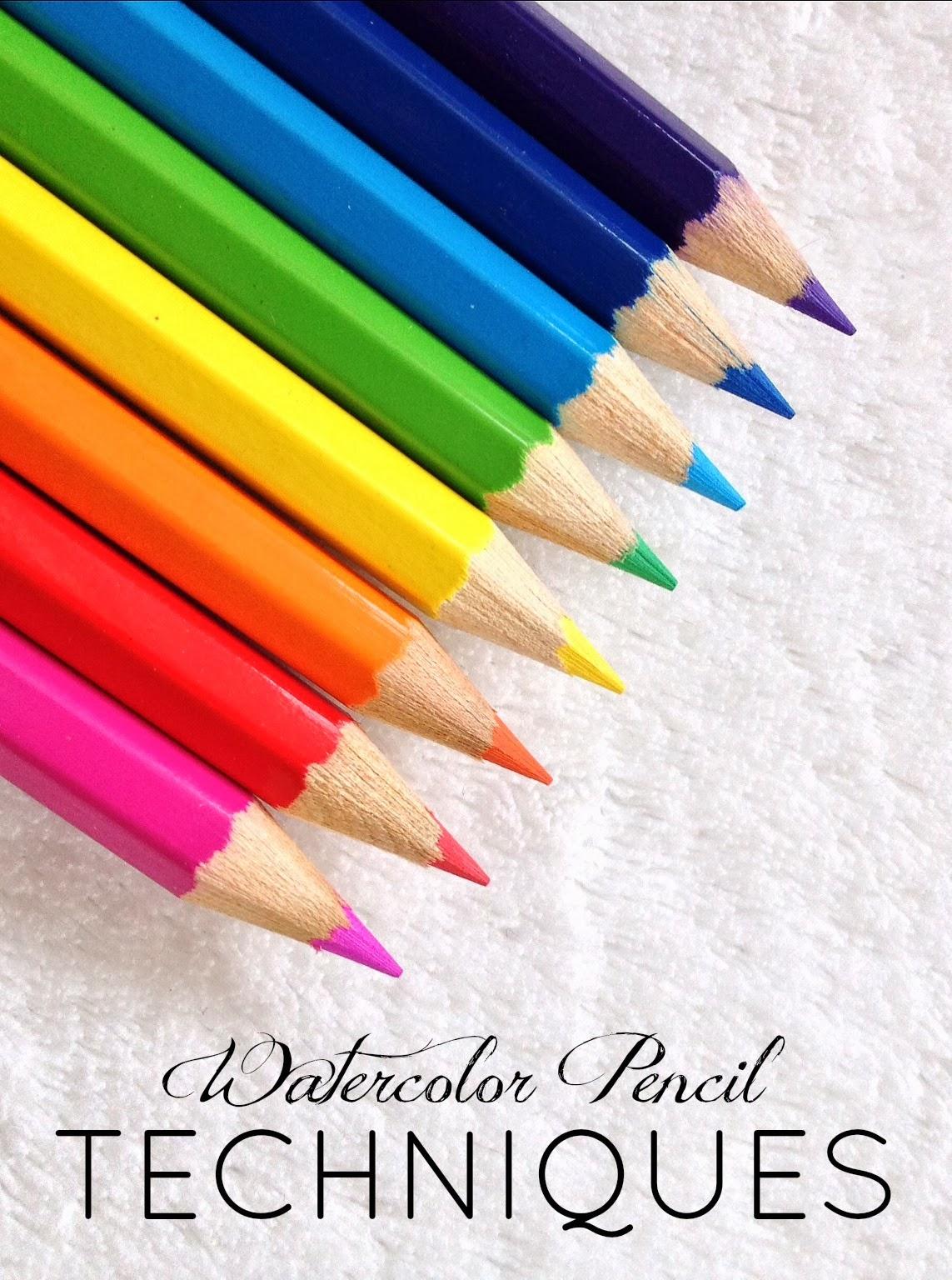 livelovediy how to use watercolor pencils aka my