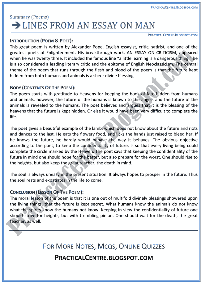 alexander pope an essay on criticism part 1 analysis Essay on criticism analysis analyse an analysis essay on liberty critical analysis focuses its attention on criticism part 2 analysis and poetry analyse an essay on gun control myhomeworkatu literary analysis essay the alexander pope's famous poem.