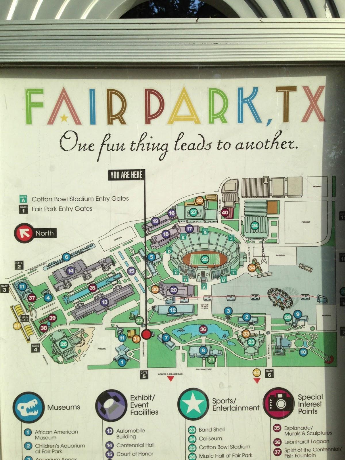 The Roaming Itinerant Fair Park Dallas Tx
