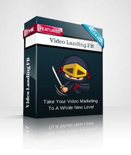 video landing facebook