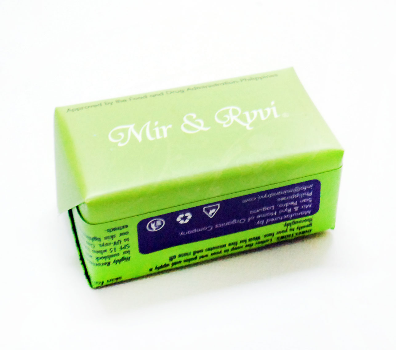 Peachy Pink Sisters: Mir and Ryvi Papaya Soap Skin ...