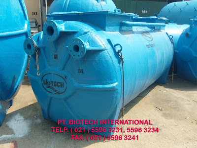 grease trap, oil trap, pemisah minyak fibreglass, septic tank biotech