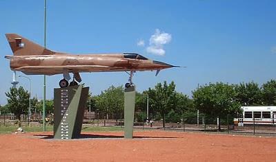 Plazoleta Aeronáutica Argentina. Lugar del 1er. Aeródromo Argentino.