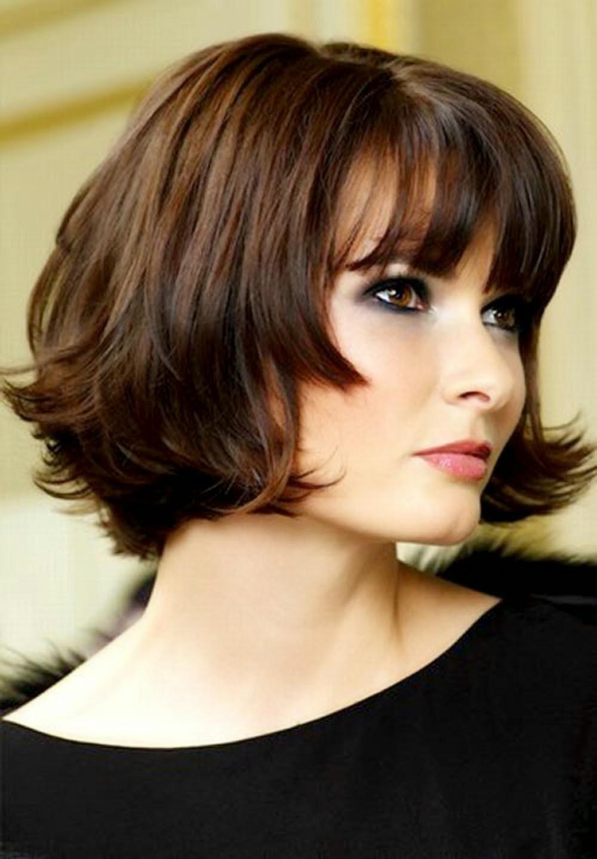 elegant short bob hairstyles