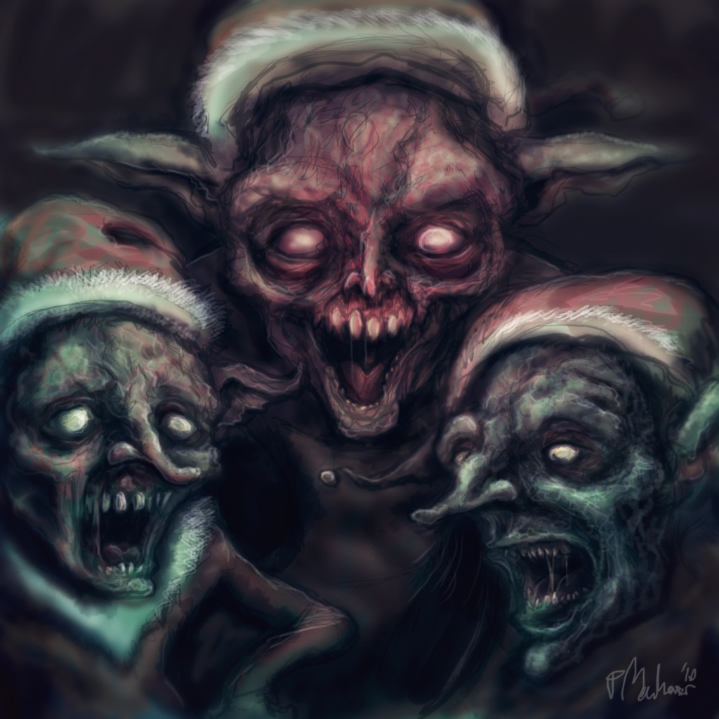 Something Wicked This Way Comes Evil Elves Threaten