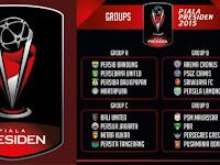 Jadwal Pertandingan Piala Presiden 2015 Lengkap Jam Tayang