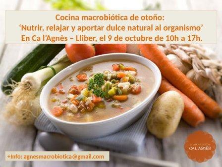 Cocina macrobiótica de otoño: 'Nutrir, relajar y aportar dulce natural al organismo'
