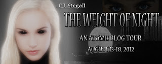{Review+G!veaway} The Weight of Night by C.L. Stegall