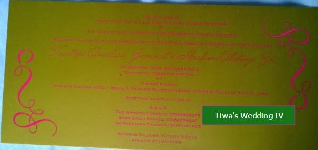 tiwa savage traditional wedding
