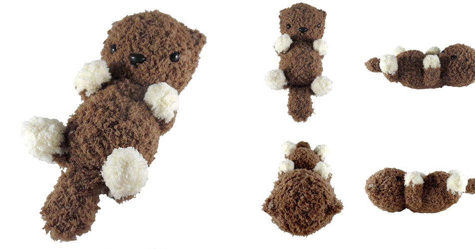 Free Amigurumi Otter Pattern : i crochet things: Pattern: Fluffy Otter Amigurumi