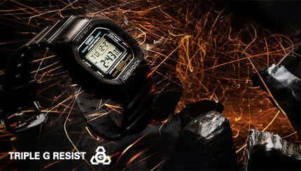 The new G-Shock technology - Triple G Resist