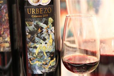 Urbenzo Crianza 2010. Blog Esteban Capdevila