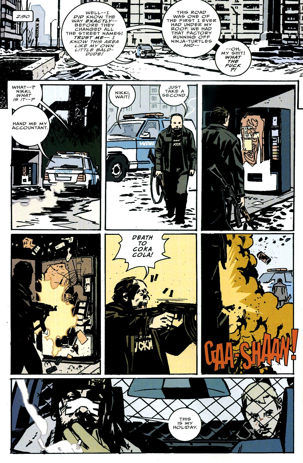 Read online The Winter Men comic -  Issue #4 - 13