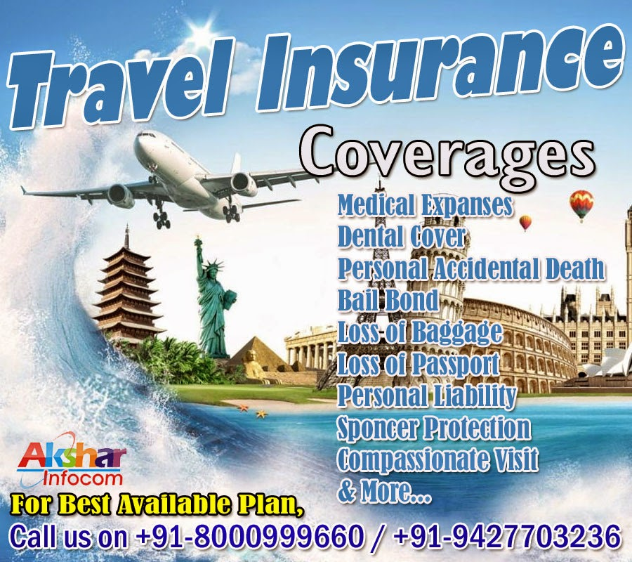 Travel Insurance - Travel Insurance Agent, Best Insurance Plan, Benefits, Overseas Insurance Call us on 8000999660 / 9427703236