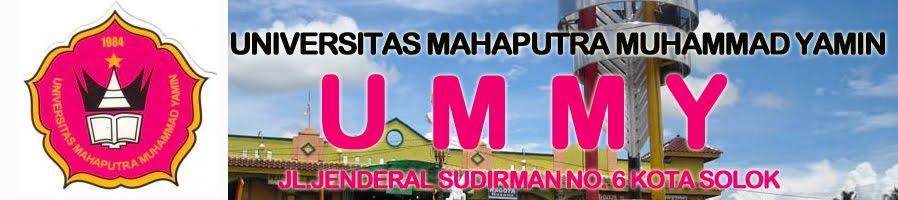 UMMY Solok | Universitas Mahaputra Muhammad Yamin Solok