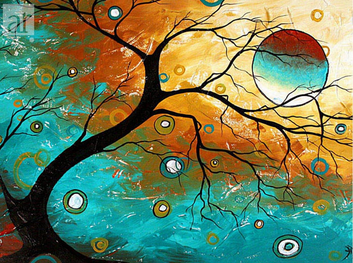 Cuadros modernos pinturas y dibujos ideas para pintar for Imagenes de cuadros abstractos para pintar