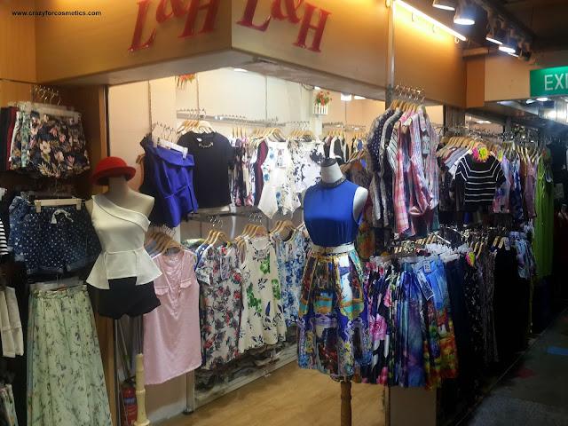 Bugis shopping street Singapore