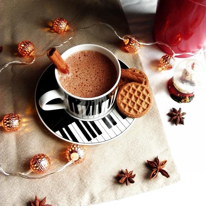 domowa gorąca czekolada | gorąca czekolada z cynamonem