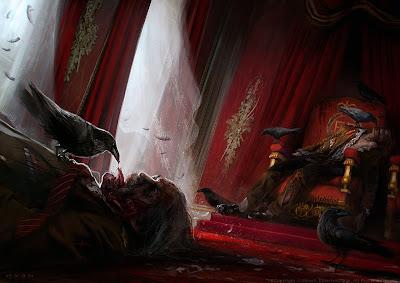 ZombiU (artwork by Morgan Yon)