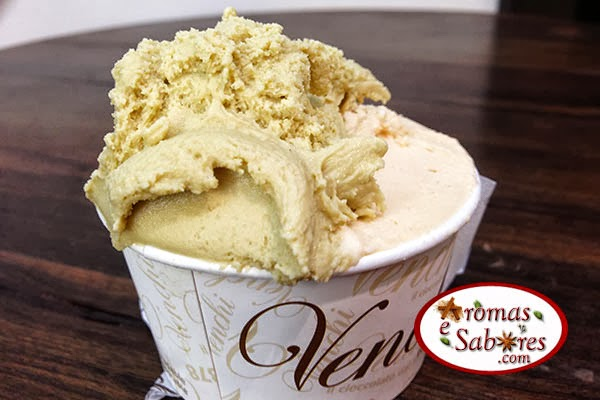 sorvete de pistache venchi