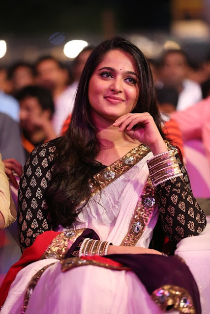 Anushka Shetty HD images at Baahubali Audio Launch