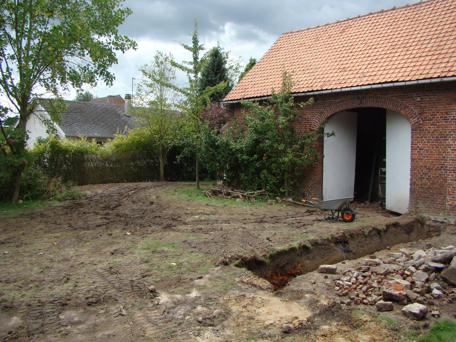 Blog sur la r novation de notre grange op ration b ton - D une maison a l autre ...
