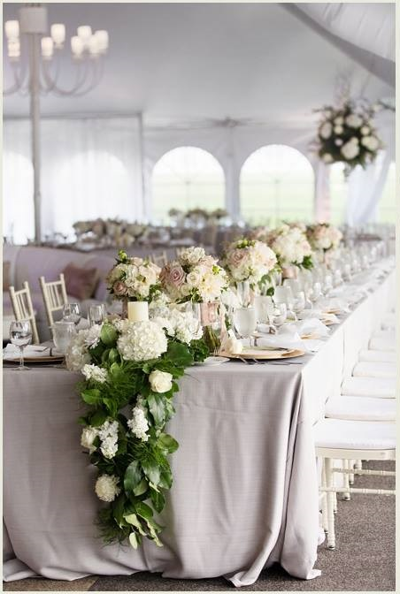 To Us, This Visual Is One Of The Main Draws To Doing The Longs. This Is  Such A Romantic And Lush Look And When You Envision This In Your Whole  Reception, ...