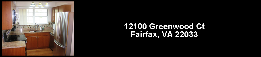12100 Greenwood Ct., #102, Fairfax, VA 22033