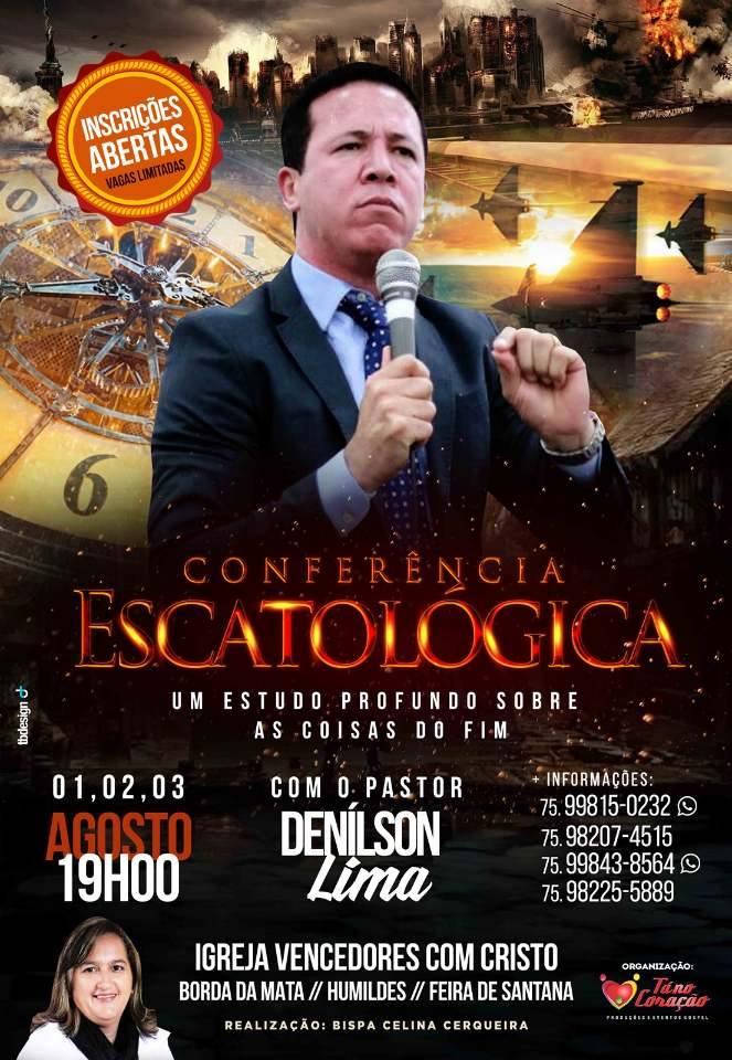 Conferência Escatológica 2017 em Humildes / Feira de Santana