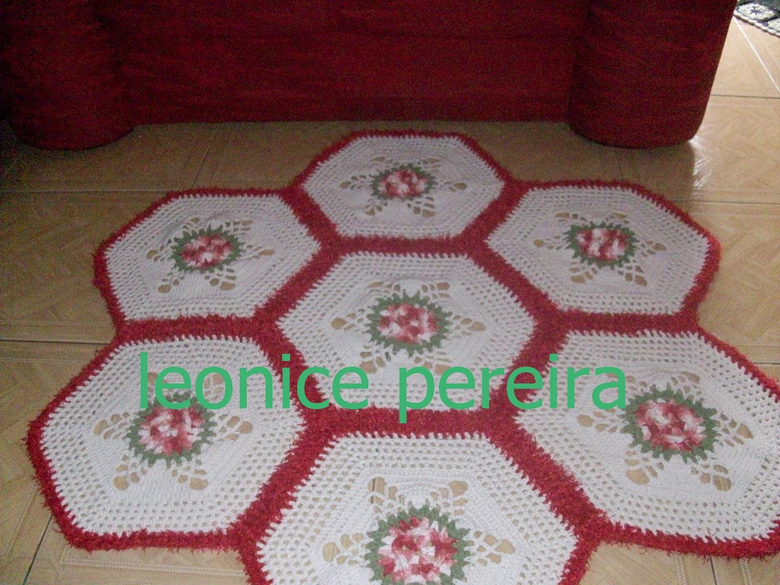 Nice Croche Um Tapete De Sala -> Tapetes De Croche Para Sala