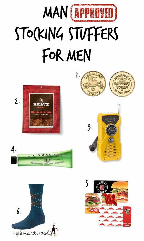 stocking fillers for him Forget the boys. If you're looking for real men's stocking fillers or stock ing filler ideas, we've a collection here to make them feel giddy with excitement like they're 15 again.