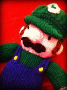 Closeup of Luigi