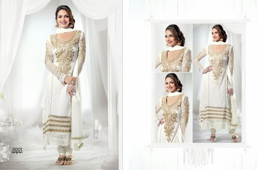 EshaDeolSalwarSuits2013 2014 wwwfashionhuntworldblogspotcom 012 - Wonderful Color Combination Esha Deol Suits