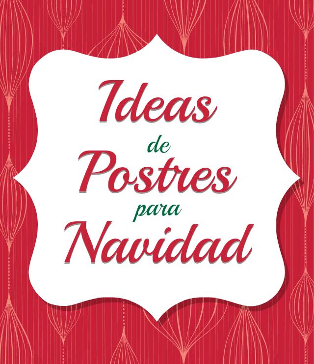 Ideas de Postres para Navidad