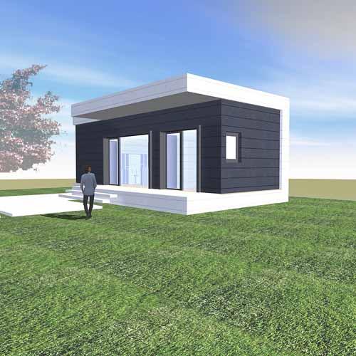 Arquitectura arquidea viviendas modulares por modus vivendi for Casas prefabricadas minimalistas