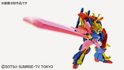 HGBF Gundam Tryon 3 official image 00