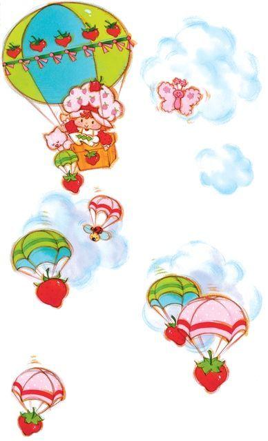 Frutillita en el aire