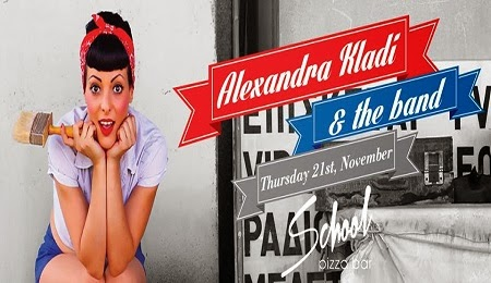 Alexandra Kladi and the Band LIVE