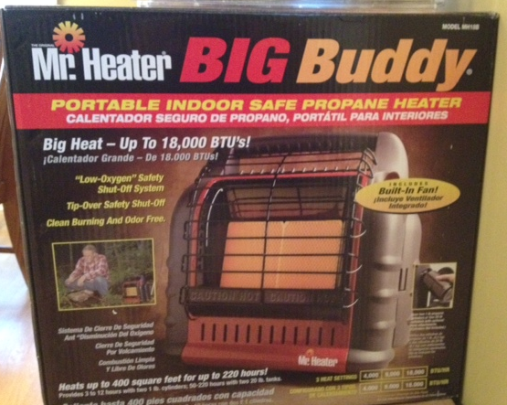 mr. heater big buddy