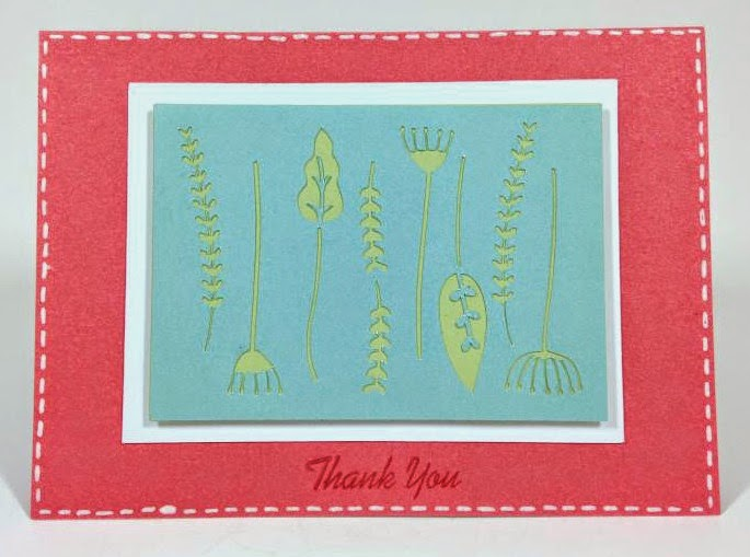 Close To My Heart Artfully Sent Cricut cartridge Thank you pop-up card