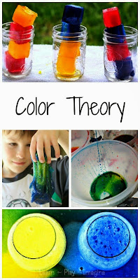 25+ hands on way to explore color theory - fun science for kids!