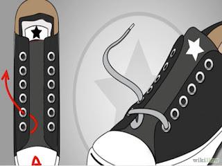 Cara Mengikat Tali Sepatu Converse Yang Keren