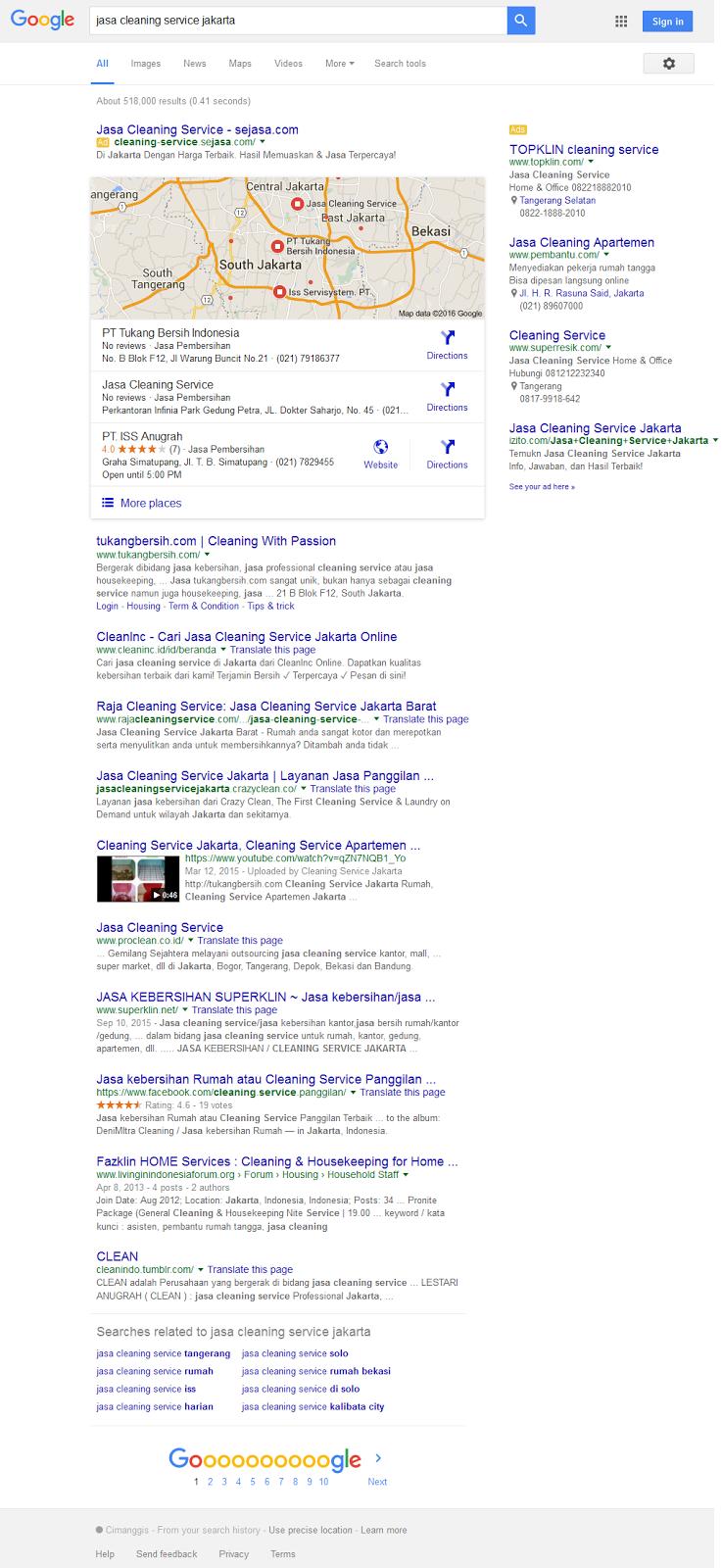 https://www.google.co.id/search?sclient=psy-ab&biw=1024&bih=643&noj=1&q=jasa+cleaning+service+jakarta&oq=jasa+cleaning+service+jakarta&gs_l=serp.3..0l3j0i22i30l7.4856.5990.1.6272.8.7.0.0.0.0.263.610.0j2j1.3.0....0...1c.1.64.serp..5.3.608.BimKUc9rH28
