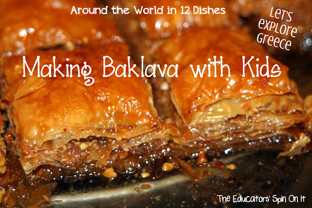 Making Baklava with Kids
