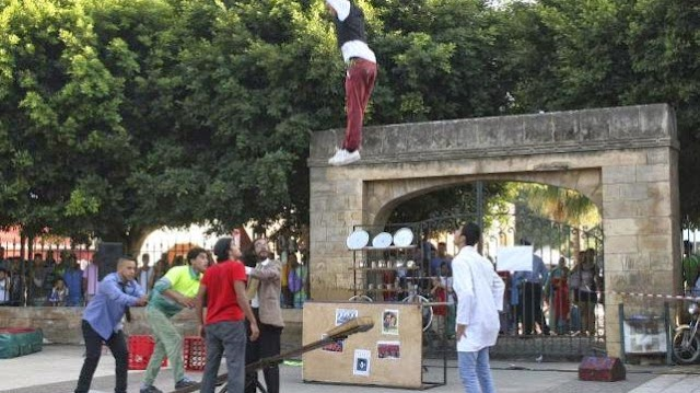 Un circo contra la exclusión social en Marruecos