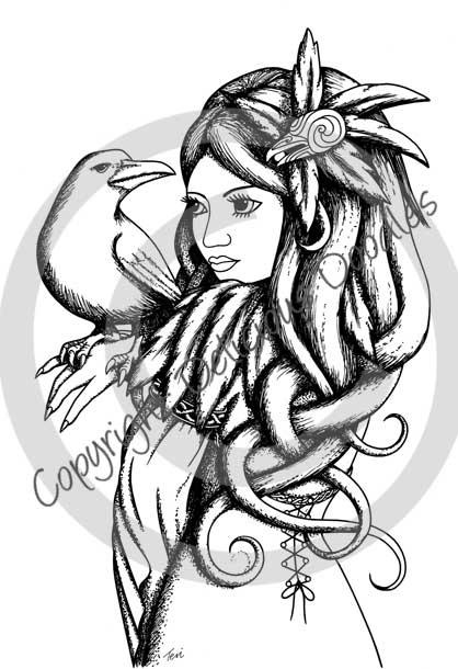 Raven Goddess