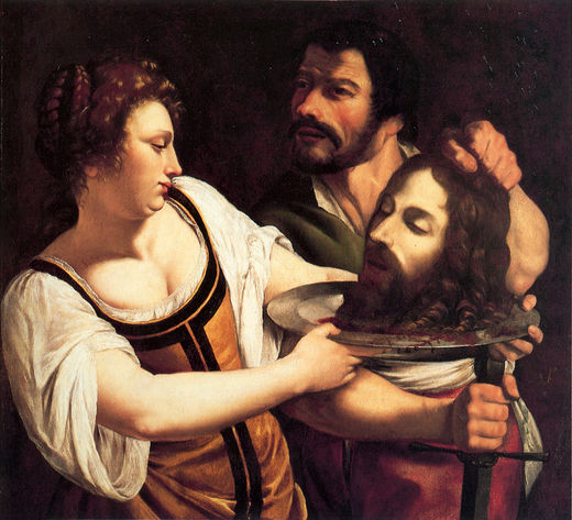 an artistic impression of artemesia gentileschi Review by john haber of orazio and artemisia gentileschi at new york's metropolitan museum of art.
