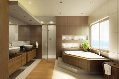 20+ Desain Kamar Mandi Minimalis Modern Terbaru 2015