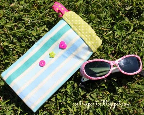 Bolsa para óculos de sol - criança
