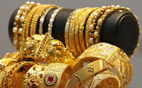 Gold rates trading higher in major metros in India